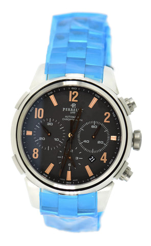 Perrelet Class-T Chronograph Stainless Steel Watch A1069/C