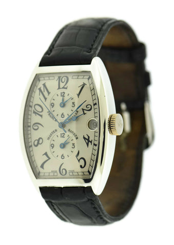 Franck Muller Master Banker 18K White Gold Watch 5850 MB