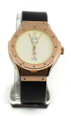 Hublot Classic Grand Quantieme 18K Rose Gold Watch 1840.8