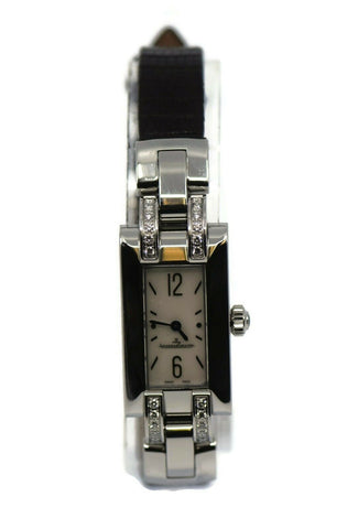 Jaeger Lecoultre Ideale Diamond Stainless Steel Watch 460.8.08