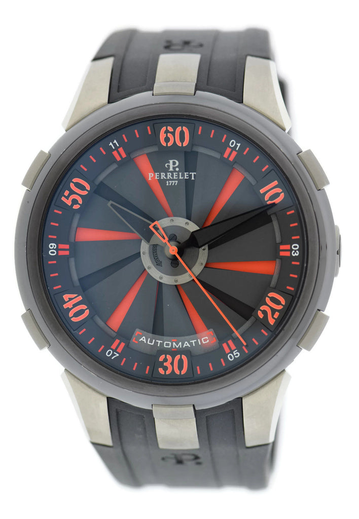 Perrelet Turbine XL Double Rotor Stainless Steel Watch A1050/2