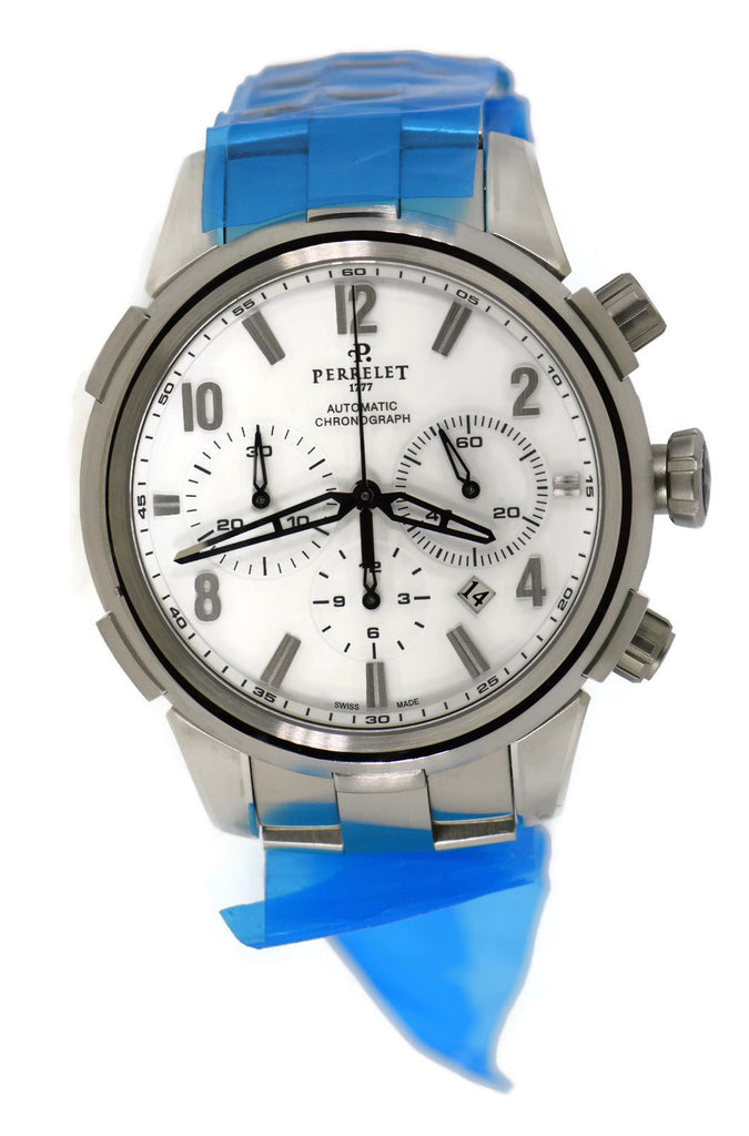 Perrelet Class-T Chronograph Stainless Steel Watch A1069/A