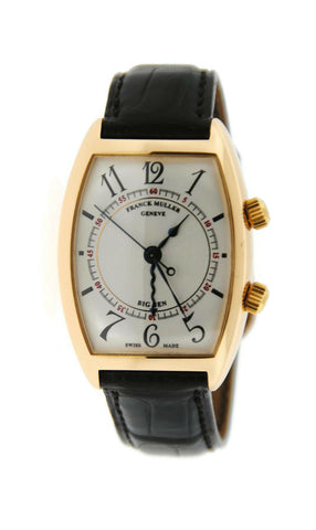 Franck Muller Curvex Big Ben 18K Yellow Gold Watch 2852 AL