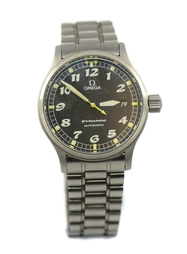 Omega Dynamic Stainless Steel Watch 166.0310