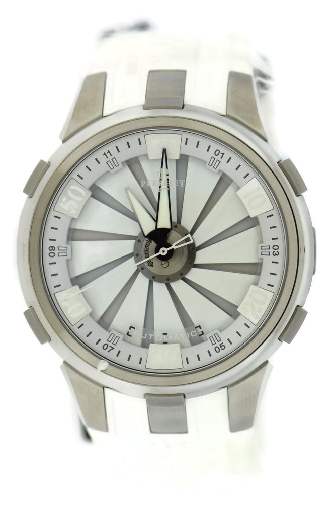 Perrelet Turbine XL Double Rotor Stainless Steel Watch A1065/1