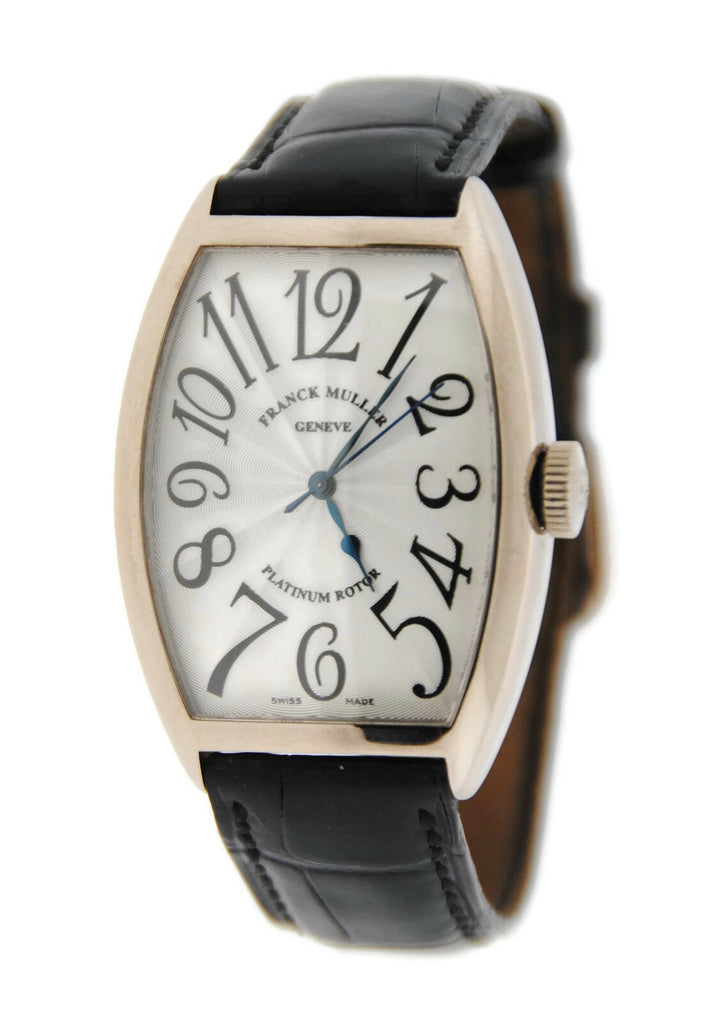Franck Muller Platinum Rotor 18K White Gold Watch 5850 SC