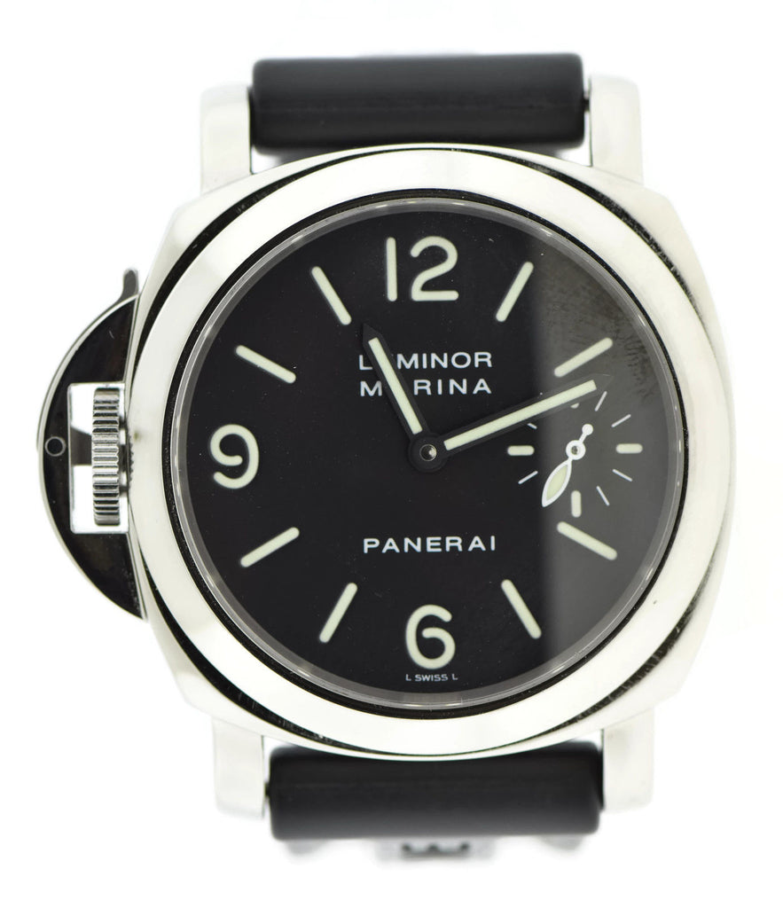 Panerai Luminor Marina Destro Stainless Steel Watch PAM22 Pre Owned