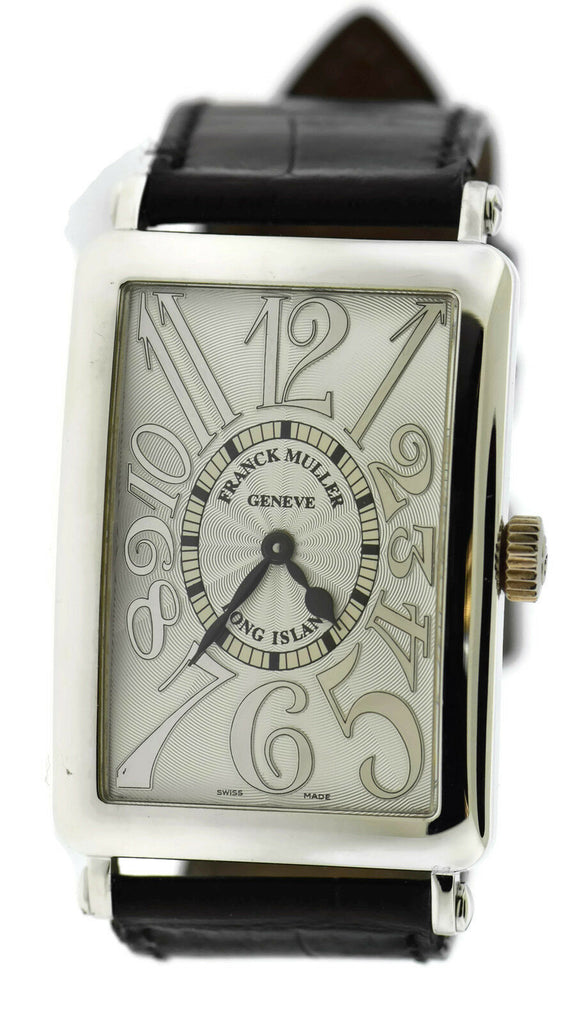 Franck Muller Long Island 18K White Gold Watch 1002 QZ