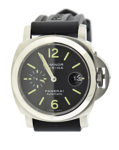 Panerai Luminor Marina Automatic Stainless Steel Watch PAM299 Pre Owned