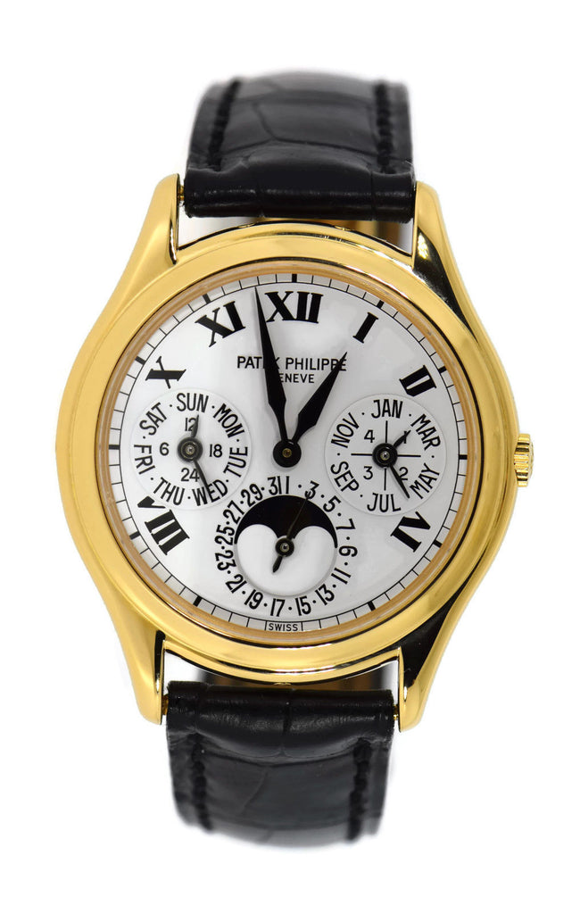 Patek Philippe Perpetual Calendar 18K Yellow Gold Watch 3940J-022