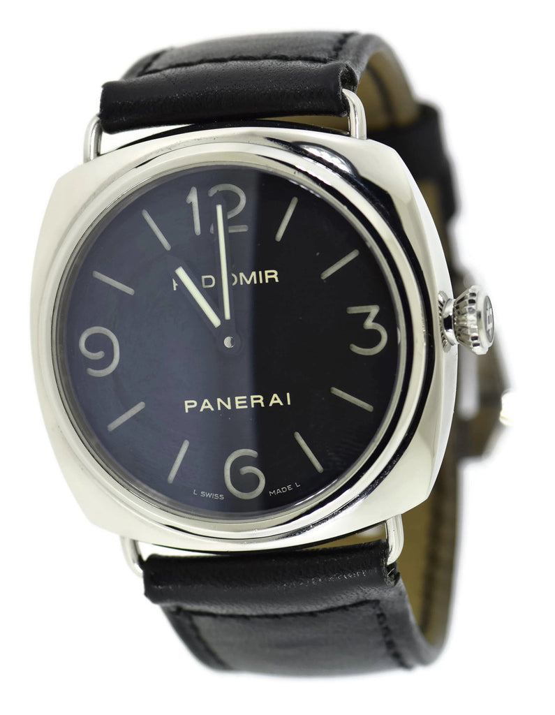 Panerai Radiomir Stainless Steel Watch PAM210 Pre Owned