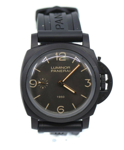 Panerai Luminor 1950 3 Day Black Composite Watch PAM375