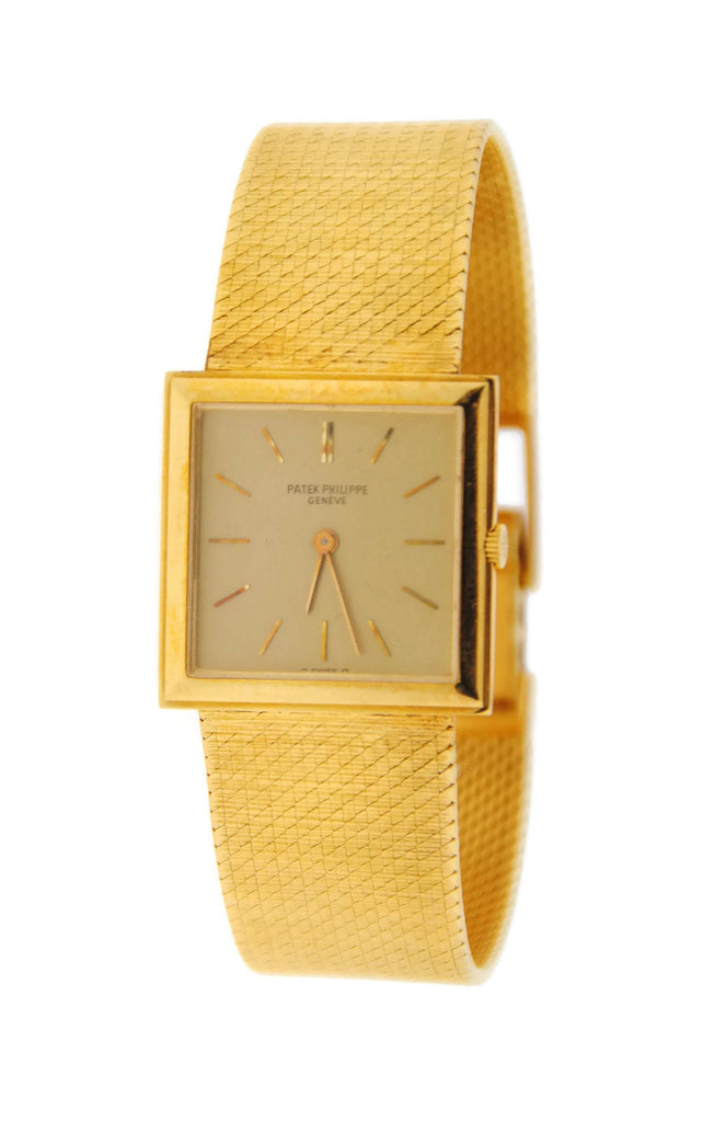 Patek Philippe Gondolo 18K Yellow Gold Watch 3490 Pre Owned