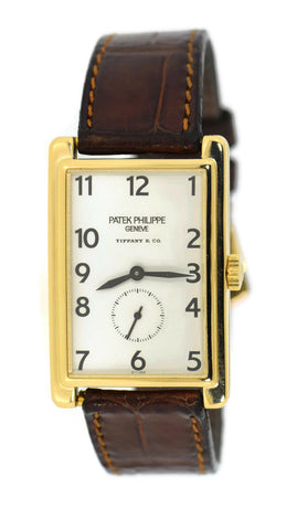 Patek Philippe Gondolo Tiffany & Co 18K Yellow Gold Watch 5009J
