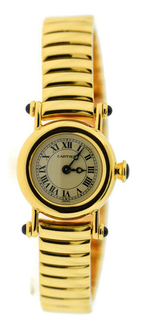Cartier Diabolo 18K Yellow Gold Watch 1470