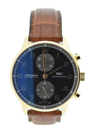 IWC Portuguese Chronograph 18K Rose Gold Watch 3714