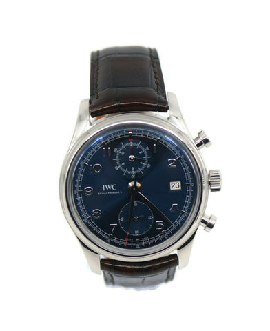 IWC Portuguesse Chronograph Laereus Edition Stainless Steel Watch IW390406