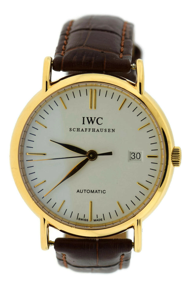 IWC Portofino Automatic 18K Rose Gold Watch 3533