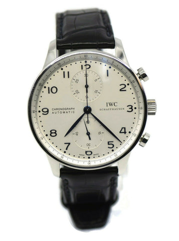 IWC Portuguese Chronograph Stainless Steel Watch IW371417