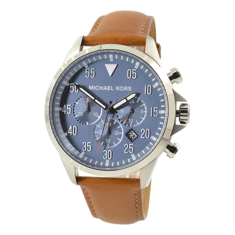 Michael Kors Gage Stainless Steel Chronograph Watch MK8490