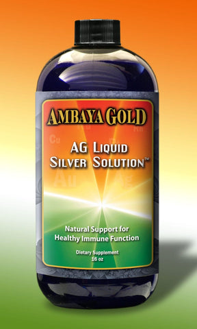 Ambaya Gold Liquid Silver Solution