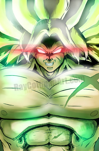 Dragon Ball Z: Broly Art Print
