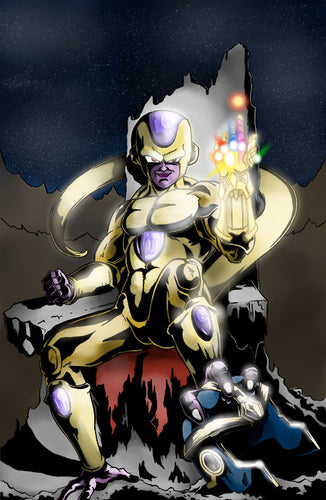 Frieza, Emperor of the Universe Art Print