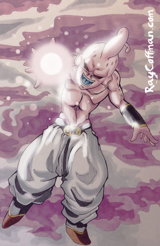 Dragon Ball Z: Kid Buu Art Print
