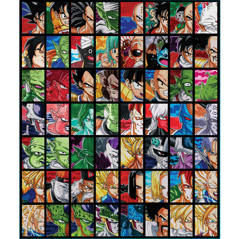 Dragonball Z Sketch Card Set #1