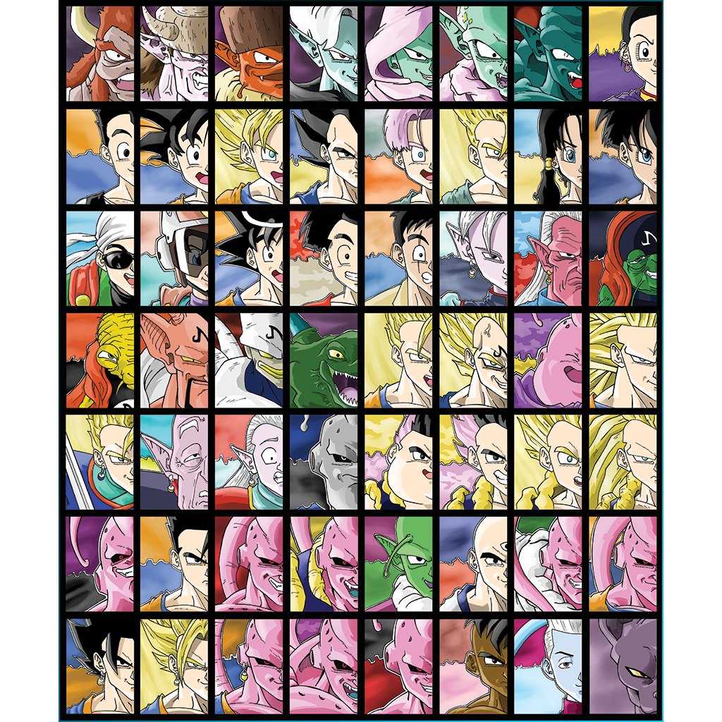 Dragonball Z Sketch Card Set #2