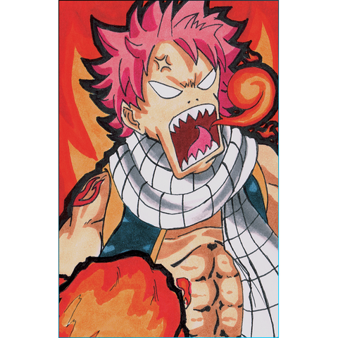 Fairy Tail Fired Up Natsu Print (Postcard)