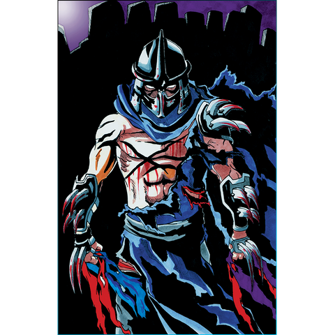 The Shredder Art Print