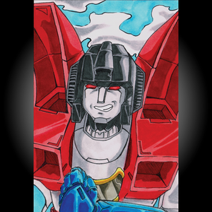 Transformers: Starscream Postcard Print (Retiring)