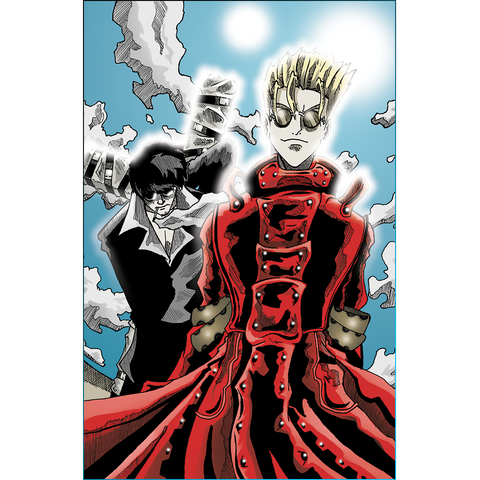 Trigun: Vash and Wolfwood Art Print