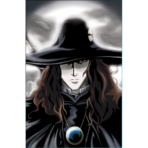 Vampire Hunter D Art Print
