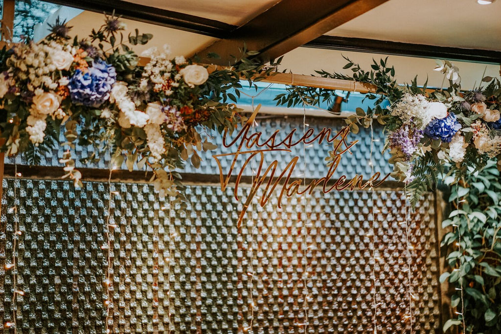 An Intimate Wedding at Singapore Botanic Garden's The Halia