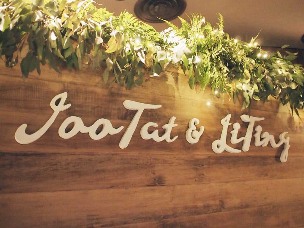 Rustic Botanical Wedding @ Crowne Plaza