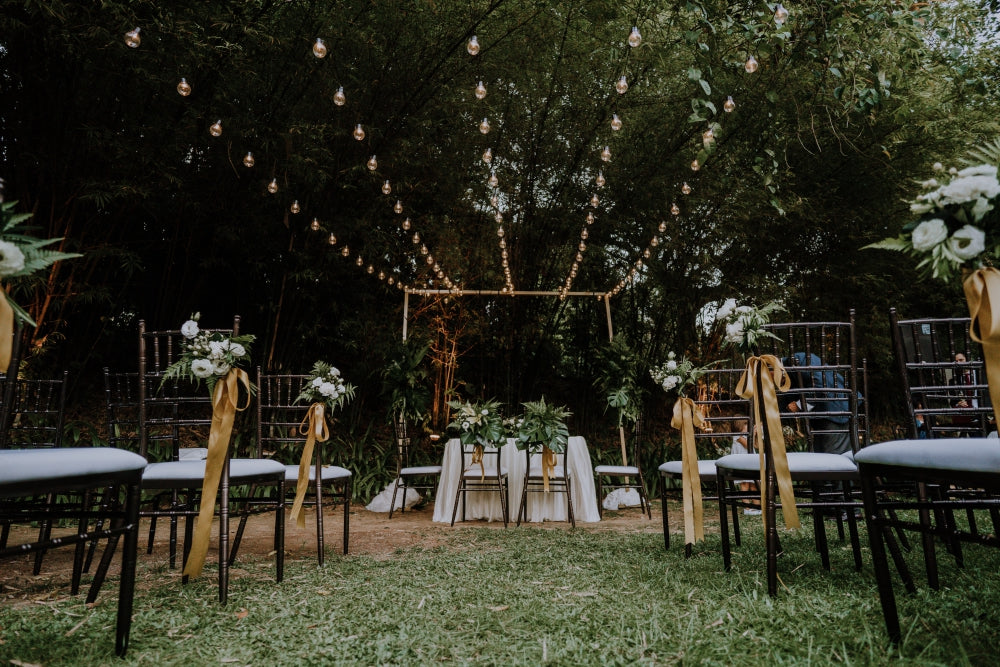 Tropical Wedding Decor Ideas @ Tamarind Hill Singapore