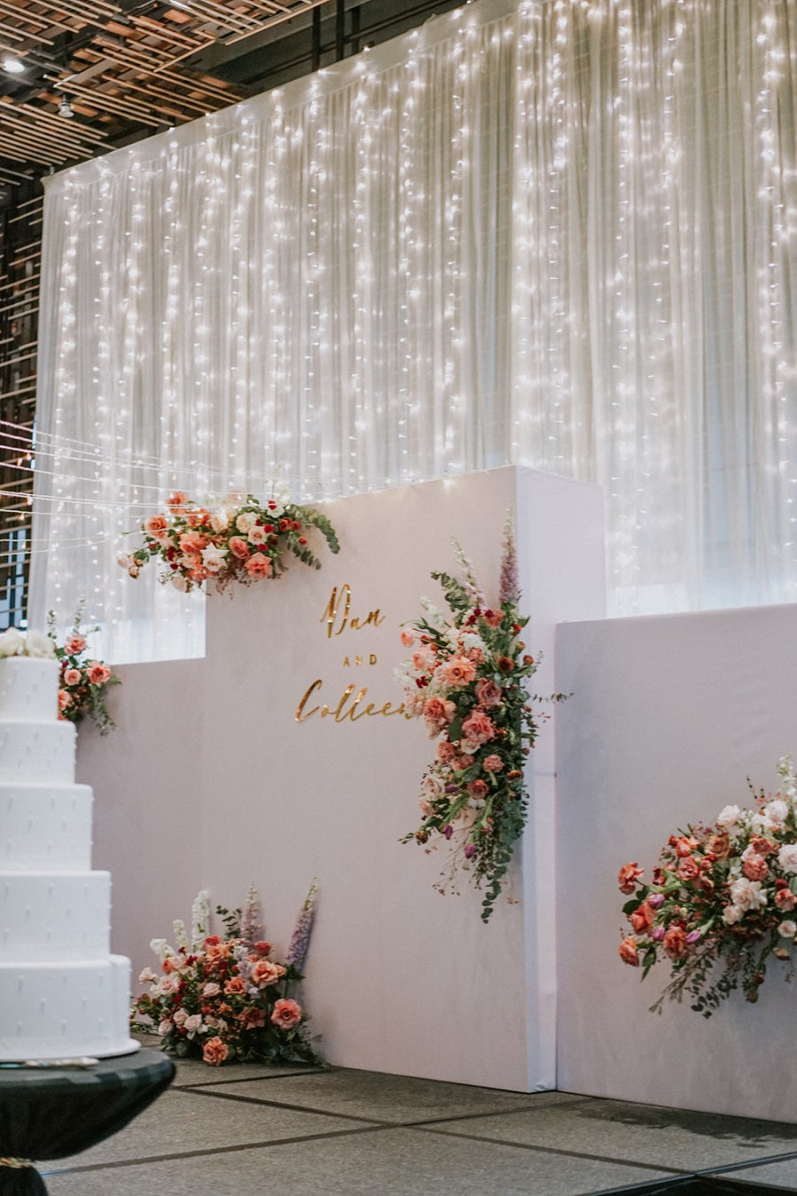 Wedding stage decorations in Singapore Pickering Hotel Park Royal Collection