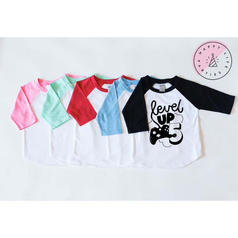 LEVEL UP FIVE - RAGLAN