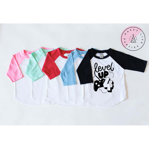 LEVEL UP FOUR - RAGLAN