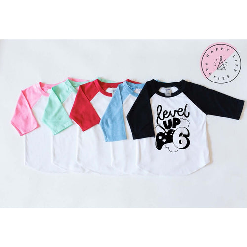 LEVEL UP SIX - RAGLAN