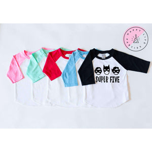 SUPER FIVE RAGLAN