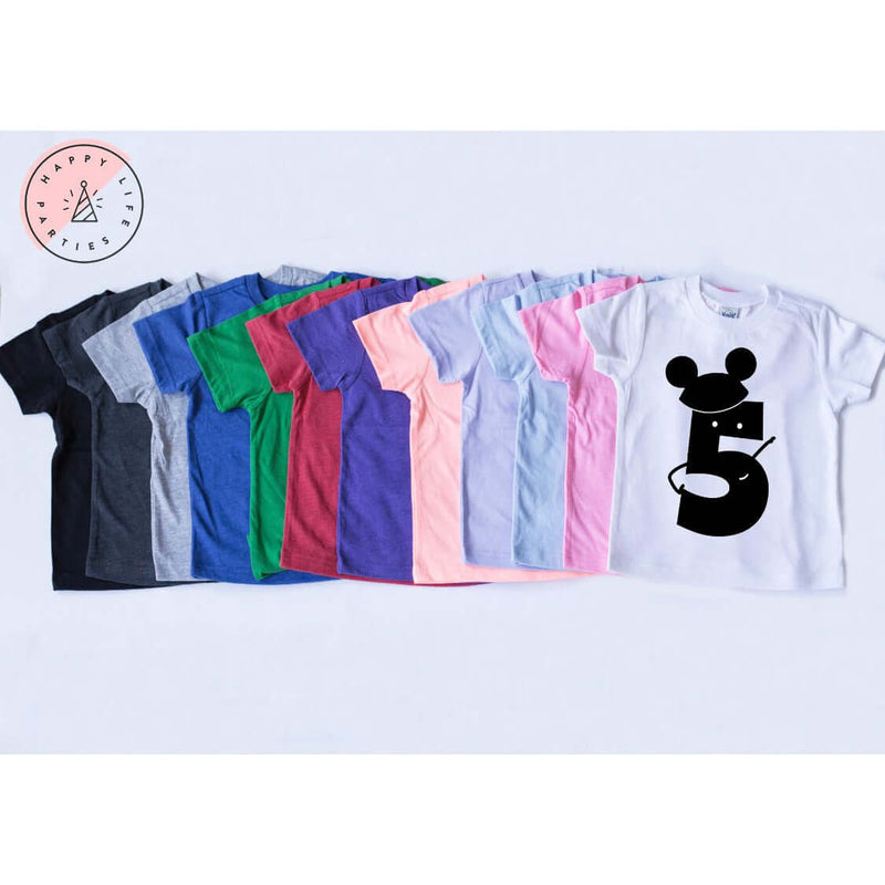 MR MOUSE FIVE TEE