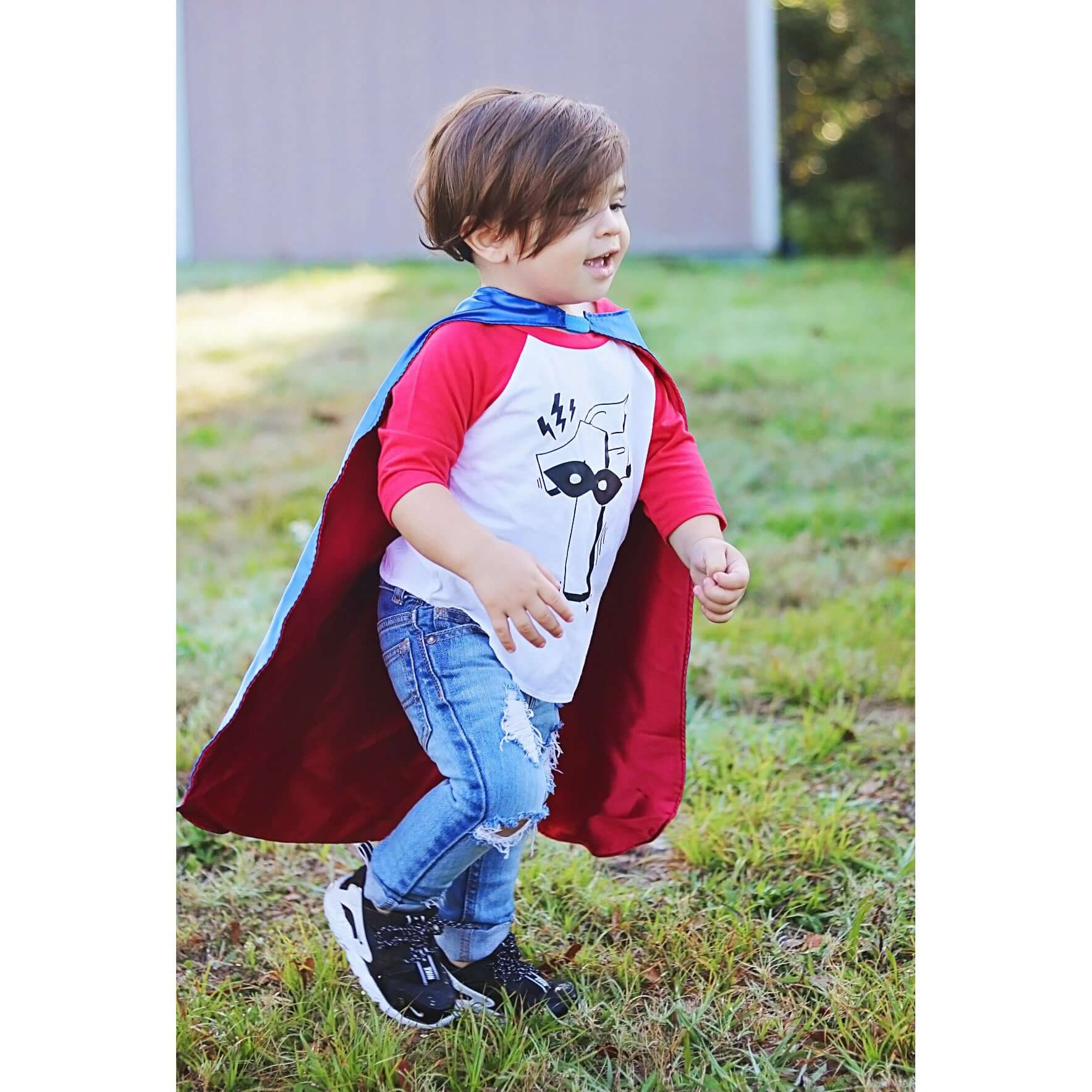 SUPERHERO CAPE SET - ANY AGE