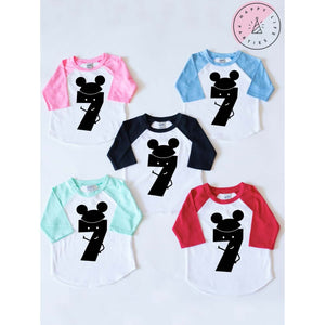 MR. MOUSE SEVEN RAGLAN