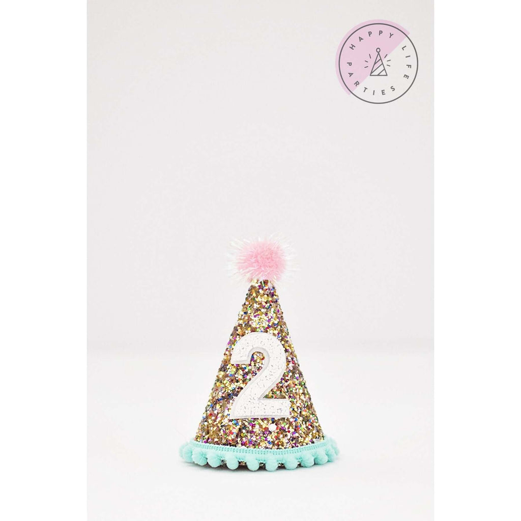 FUNFETTI TWO PARTY HAT