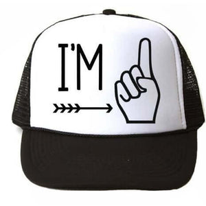 I'M ONE TRUCKER HAT