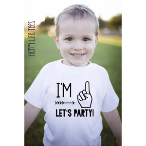 I'M ONE LETS PARTY TEE