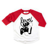 LEVEL UP ONE RAGLAN